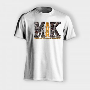 MAVRK White with Camo - #MAVRK WHT-CAMO-777