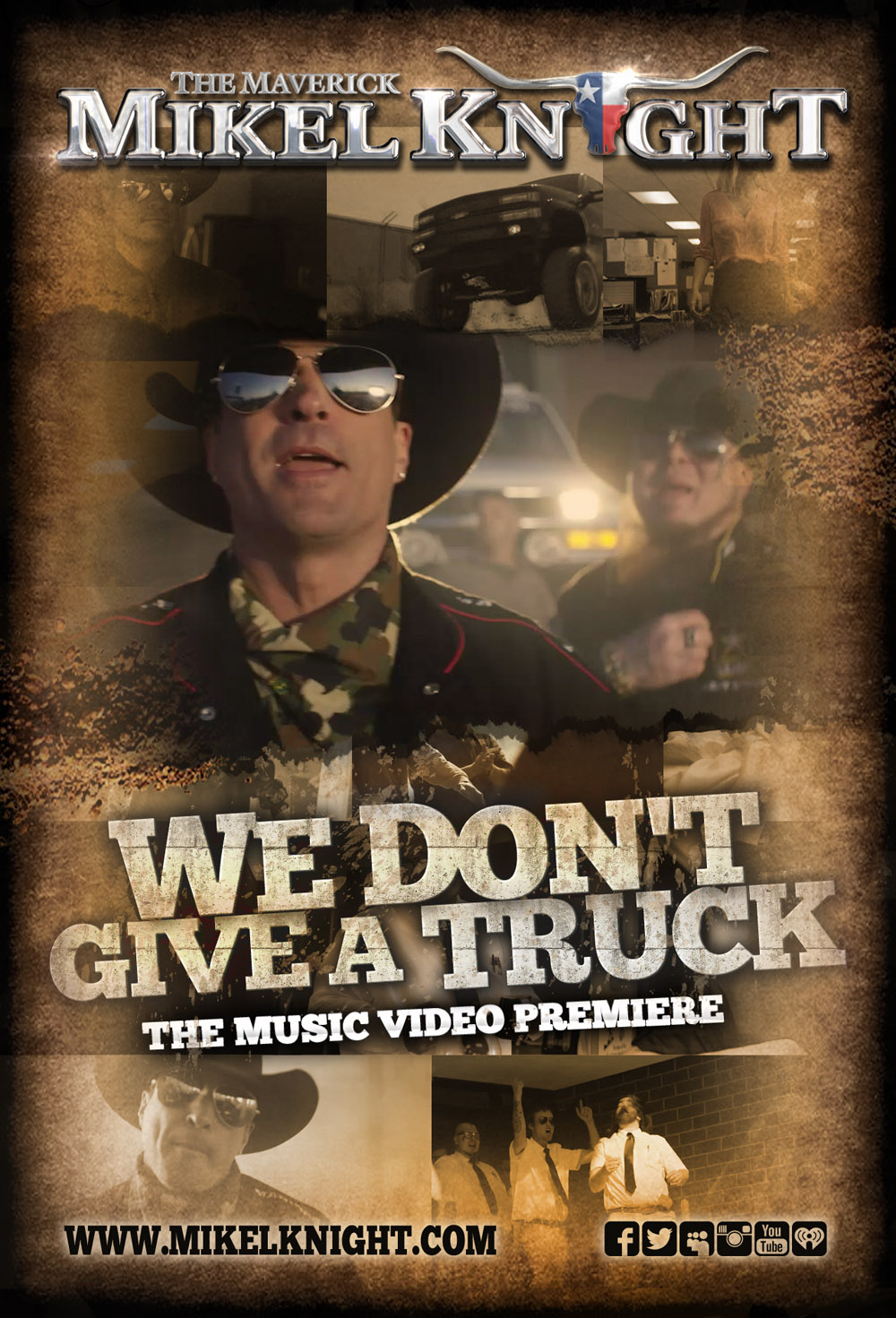 "The Maverick Mikel Knight ""We Don't Give A Truck"""