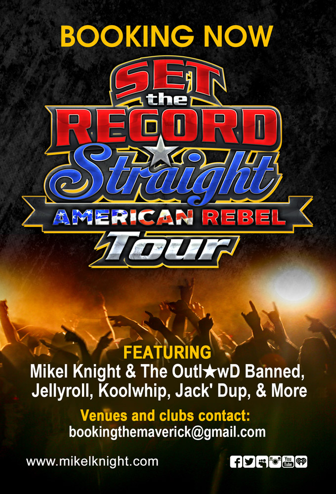 Set The Record Straight American Rebel Tour