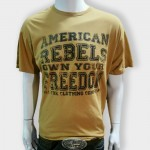 American Rebel Light Brown with Freedom