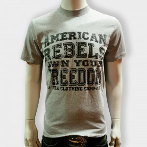 American Rebel Grey with Freedom