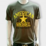 American Rebel Light Green with Star