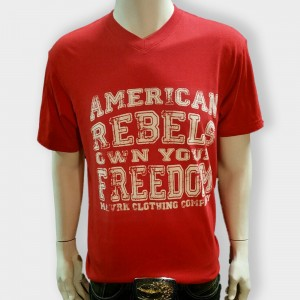 American Rebel Red with Freedom