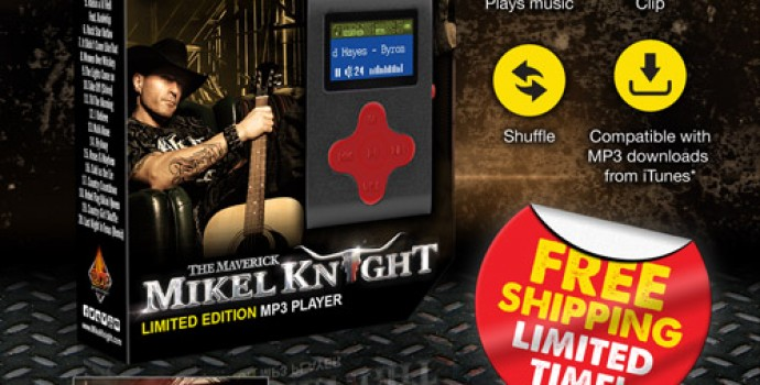 Order Mikel Knight Limited Edition MP3 Player