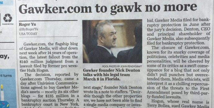 Gawker bodyslam by $140M lawsuit